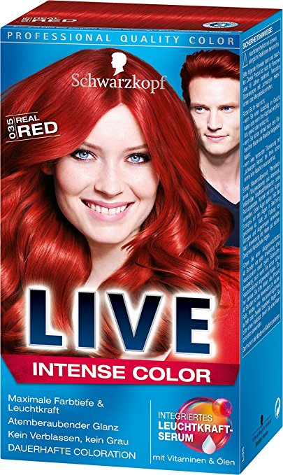 Haare Rot Färben Die Top 4 In Unserem Haarfarben Vergleich